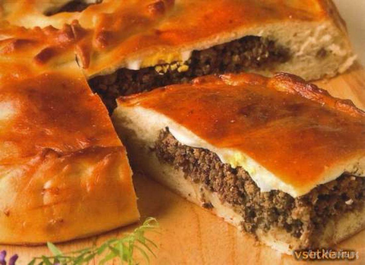 Пирог с потрохами рецепт